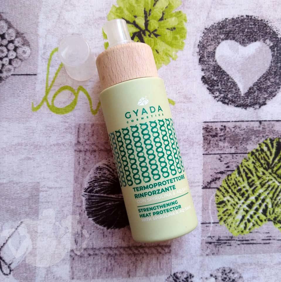Termoprotettore rinforzante con Spirulina – Gyada Cosmetics