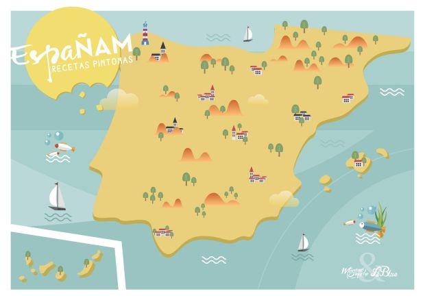 Españam _ Mapa