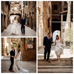 Wed in Radicondoli - passeggiata