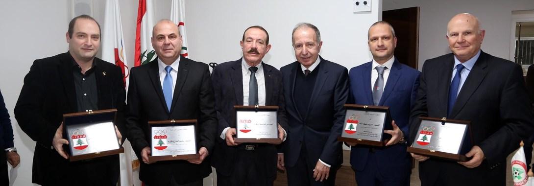 همام شكرغاليًا لتعاون فنيش وهنأ أوهانيان الأولمبية اللبنانية أقرّت البيانين الإداري والمالي لعام 2019