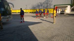 L'équipe de volley de Cuba