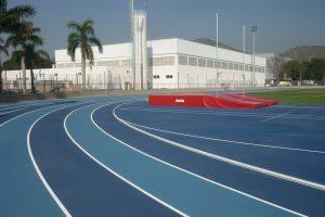 Le stade d'entraînement de l'athlétisme, université de l'armée de l'air