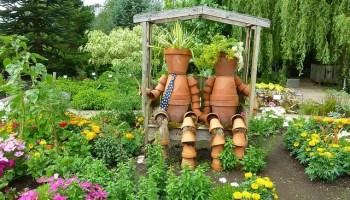 Awesome Amenager Son Jardin Avec De La Recup Idees - Idées ...