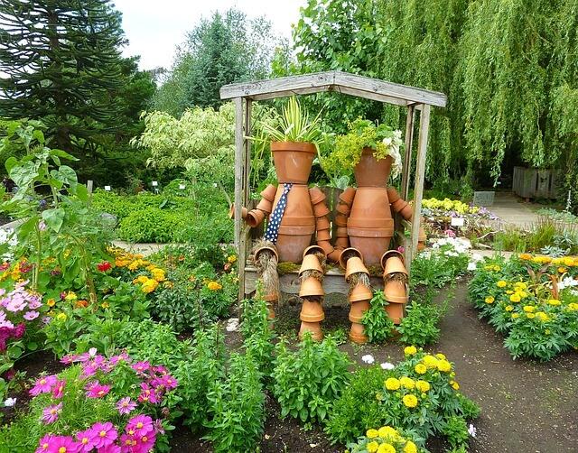 Nos idées récup\' pour un jardin déco - Le BricoMag