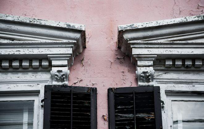 Travaux de réparation de fissures de façade