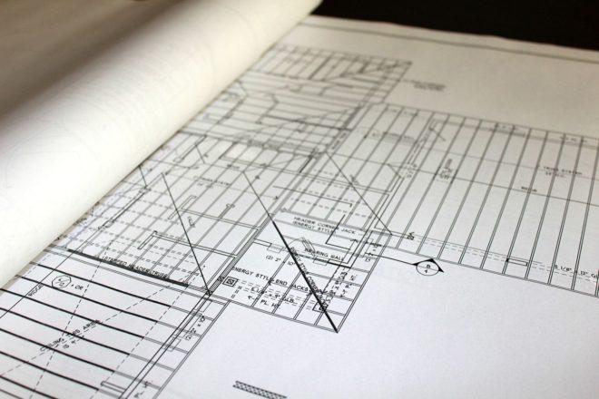 plan de construction d'une maison