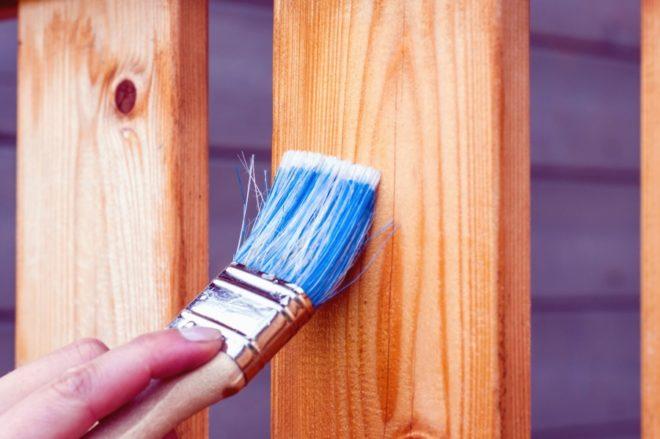 peinture extérieure pour repeindre du bois