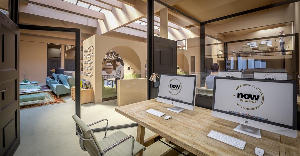 l 39 espace now coworking rouen le buzz de rouen. Black Bedroom Furniture Sets. Home Design Ideas
