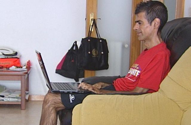 José António e a esclerose lateral amiotrófica