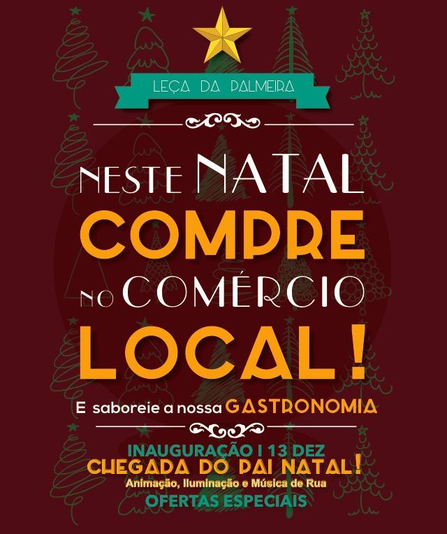 Neste Natal, compre no Comércio Local!