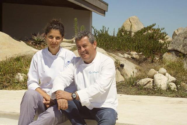 Chef Rui Paula e Rita Elói
