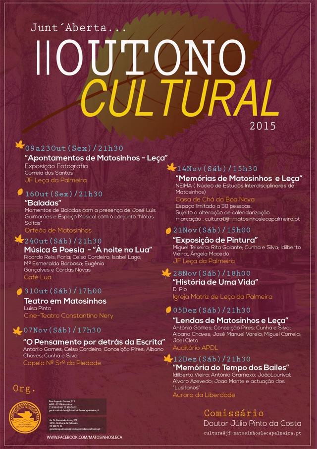 Programa Outono Cultural 2015