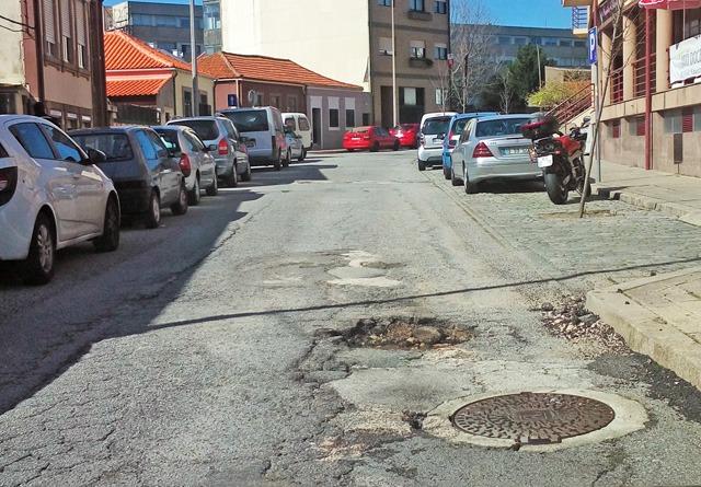Rua Óscar da Silva, Leça
