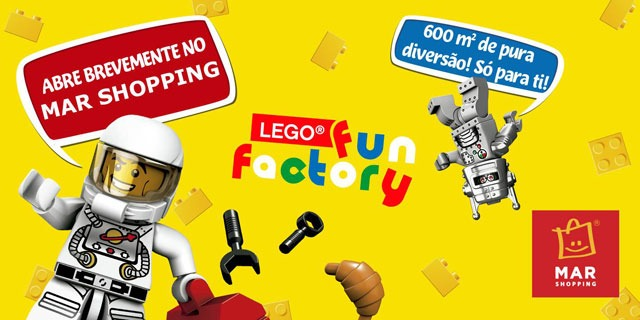Lego Fun Factory - MAR Shopping Matosinhos