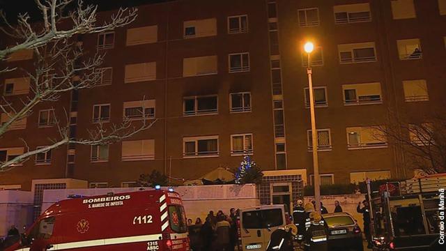 Incêndio destrói apartamento em Matosinhos