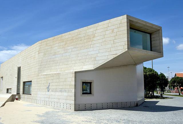 Exterior do Posto de Turismo de Matosinhos