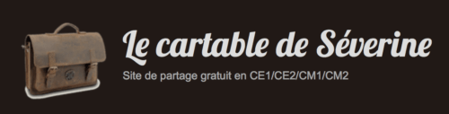 Le cartable  de Séverine