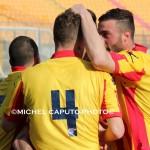 esultanza giocatori Lecce