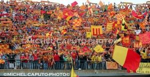 Curva Nord col Benevento play-off