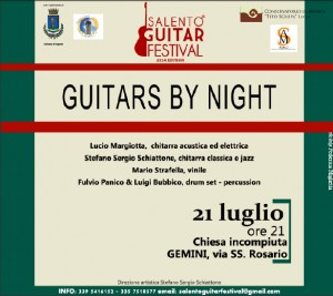 Guitars by night