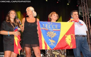 festa giallorossa Lecce famiglia Tesoro