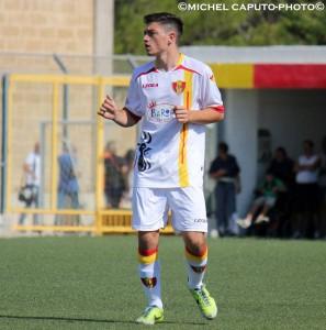 Francesco Rotunno, al rientro in maglia giallorossa