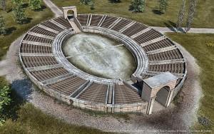 rcostruzione Anfiteatro Rudiae