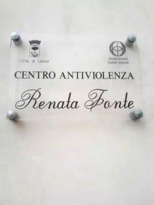 Centro antiviolenza 'Renata Fonte'