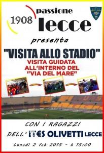 Visita allo stadio - Passione Lecce
