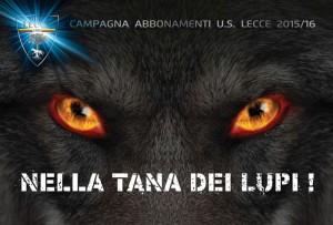 brochure abbonamenti Lecce 2015-16