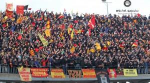 Curva Nord Lecce-Benevento 20-12-2015
