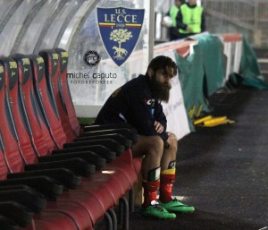 Moscardelli in panchina