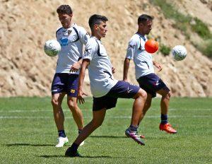 allenamento Lecce a Cotronei 5