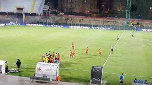 esultanza Lecce ad Ascoli