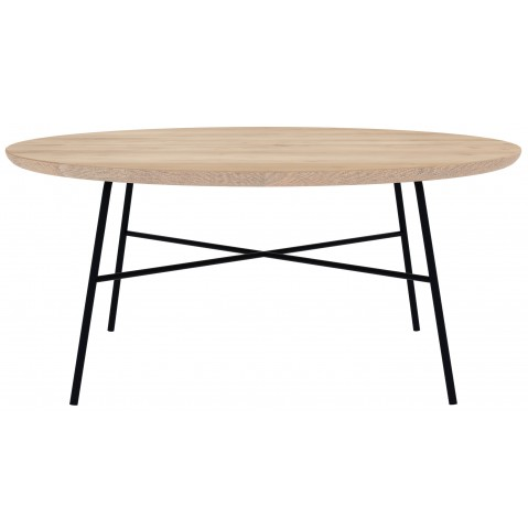 table basse rond disc d ethnicraft chene