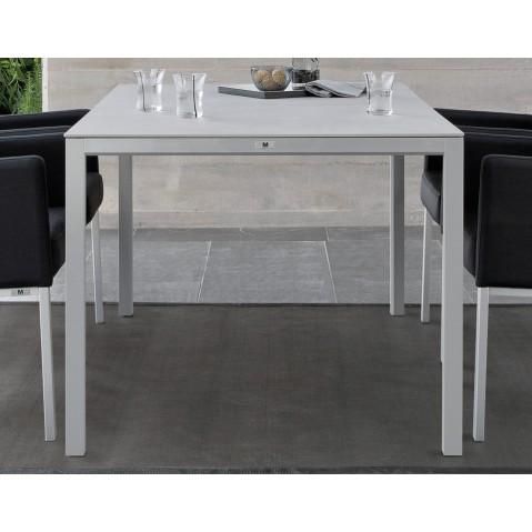 table haute carree trento de manutti noir