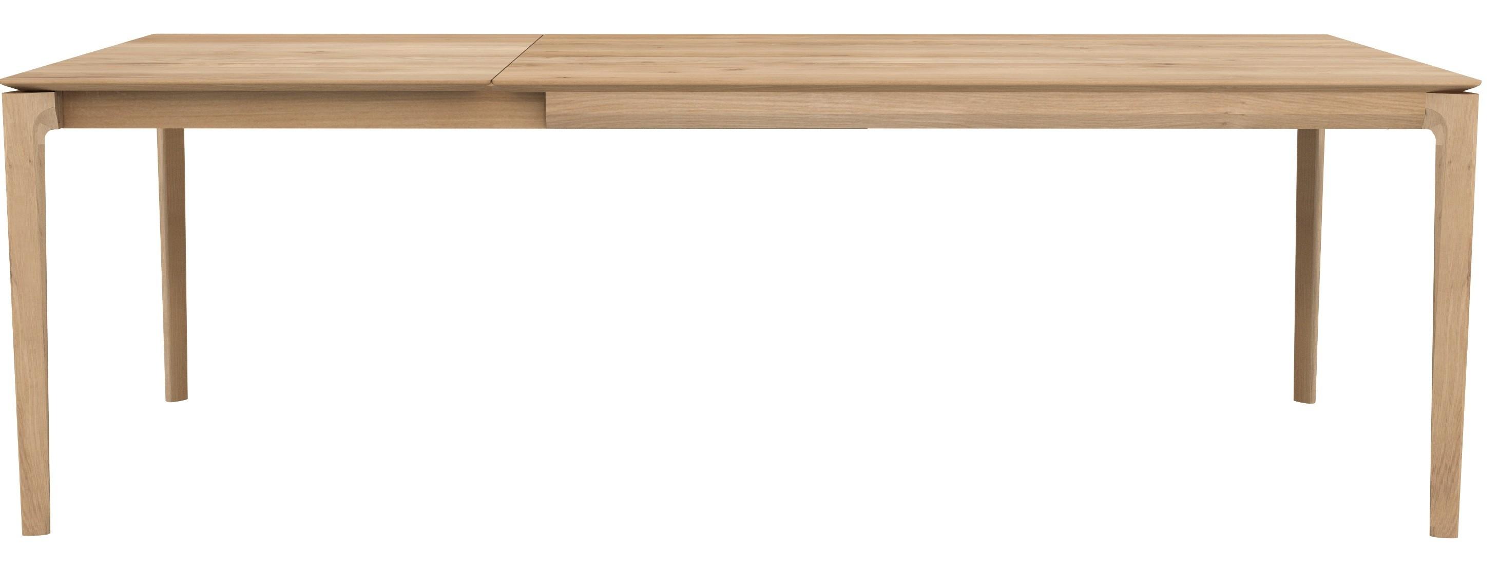 table a rallonge bok en chene d ethnicraft 3 tailles