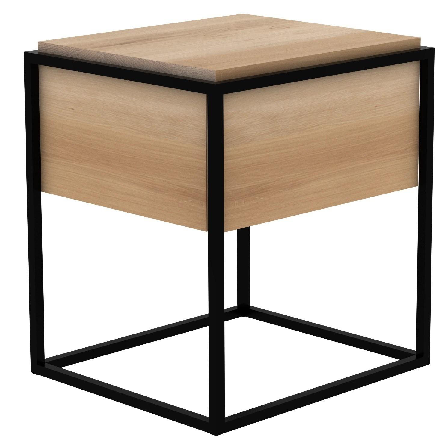 table de chevet monolit d ethnicraft 3 coloris