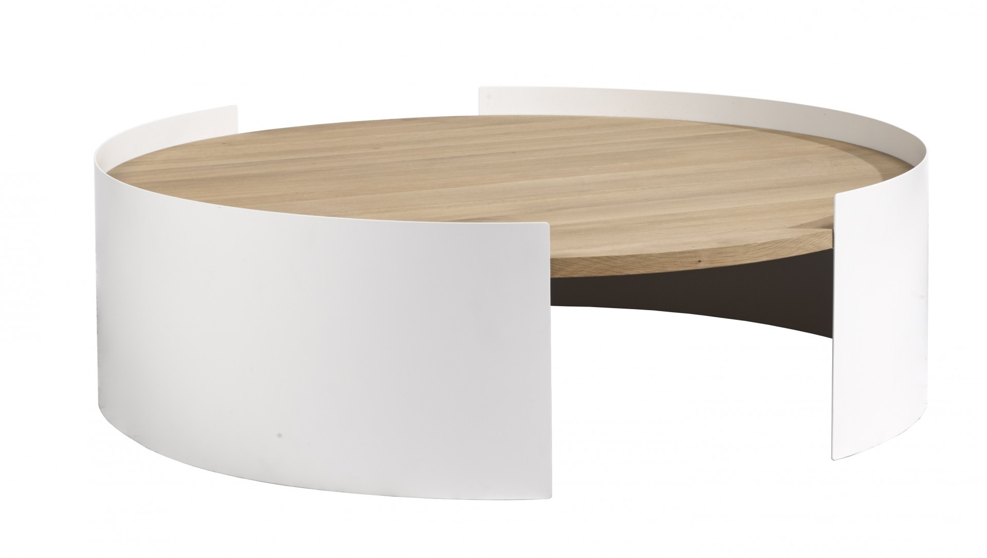 Table basse MOON d Ethnicraft  2 coloris