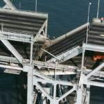 Failed pier E9
