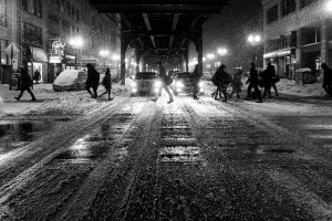 La rue et la nuit, les décors du roman noir