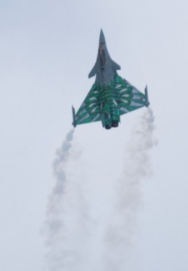 Rafale Solo Display @ La Ferté 2015