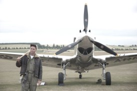 Curtiss P-40C G-CIIO - 02 Flying Legends 2015