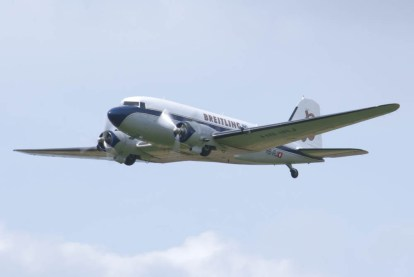 Douglas DC-3 HB-IRJ - 01 Flying Legends 2015