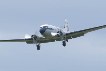 Douglas DC-3 HB-IRJ - 06 Flying Legends 2015