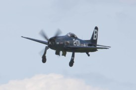 Grumman F8F-2P Bearcat G-RUMM Flying Legends 2015