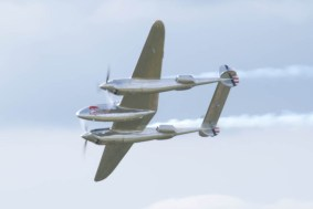 Lockheed P-38L Lightning N25Y - 03 Flying Legends 2015