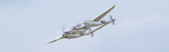 Lockheed P-38L Lightning N25Y - 04 Flying Legends 2015