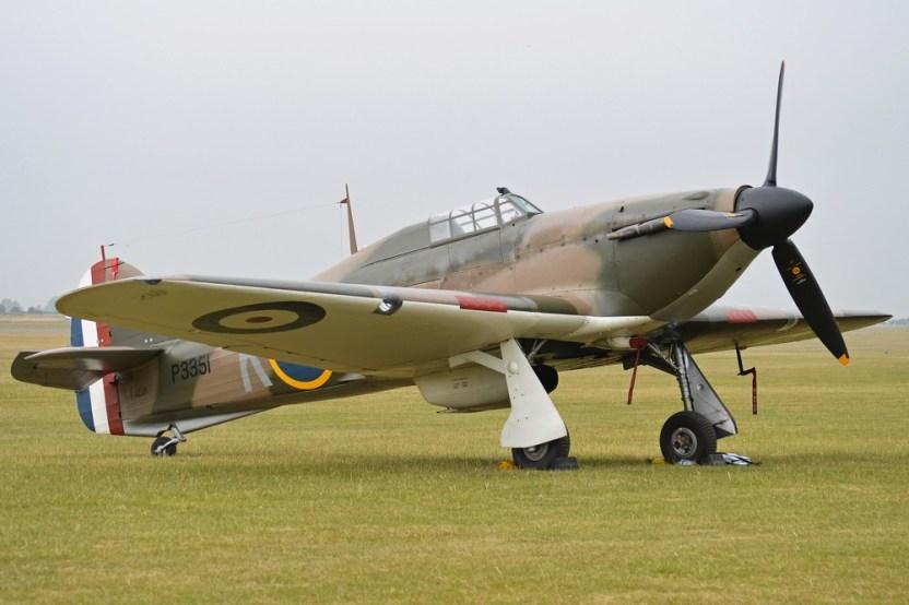 Hawker Hurricane P3351 F-AZXR Alan Wilson CC BY SA 2.0 1