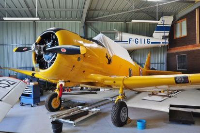 T-6 F-AZCV à Saint-Rambert d'Albon en 2011 (Photo © Christian R)